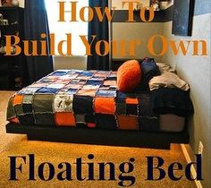 DIY Star Wars Hovercraft Bed - A bed that floats?! Or at least looks like it's floating? This is a great weekend project that will make you the coolest parent o…