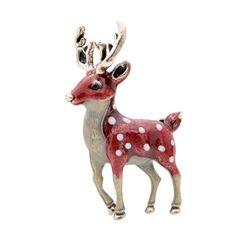 """Cute Deer"" – Terrumina Small Deer, Nature Animals, Animal Design, Types Of Metal, Brooch Pin, Gifts For Kids, Giraffe, Moose Art, Accessories"