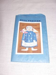 DOLL PATTERN Primitive Patriotic Raggedy by SheCollectsICreate