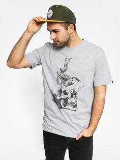 T-shirt Quiksilver Clas Tee Gescorru (grey)