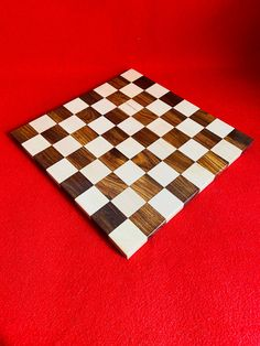 Both Side Play Indian Special Handmade Wooden Professional Flat Borderless 22 MM Thickness Handicrafts Chess Set. Christmas, Birthday Gift.