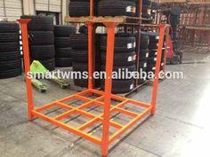 Durable heavy duty steel jeep cherokee xj spare tire stack rack
