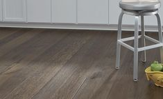 FARMHOUSE COLLECTION, HORSESHOE - You'll feel right at home in every room with Horseshoe, from the Farmhouse Collection, featuring authentic hand distressed wood flooring with variations of warm brown tones and subtle grey highlights. Grey Wood Floors, Grey Flooring, Laminate Flooring, Hardwood Floors, Basement Flooring Options, Maple Floors, Wide Plank Flooring, How To Distress Wood, Brown And Grey
