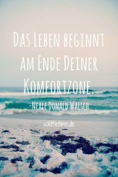 Ein kleiner Schritt und Du bist endlich draußen aus Deiner #Komfortzone.   Schau…