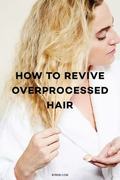 My Hair Broke Off, and Here's What I Did to Fix It How to fix overprocessed hair Treatment For Bleached Hair, Bleached Hair Repair, Damaged Hair Repair Diy, Bleach Damaged Hair, Bleach Hair, Hair Mask For Damaged Hair, Dry Hair Remedies, Healthy Hair Remedies, Hair Breakage Treatment