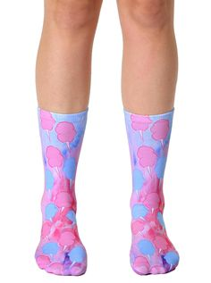 Cotton Candy Crew Socks