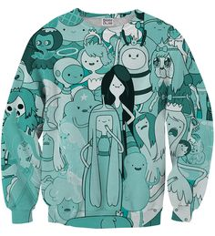 Full of princesses sweater, Mr. GUGU & Miss GO