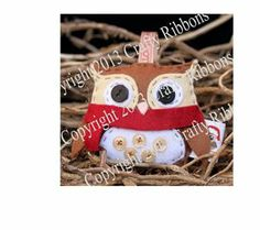 Christmas Owl - Percy Owl Kit