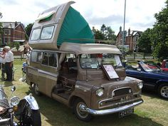 1962 Bedford CA Romany camper 424KOD