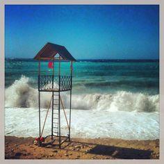 Photo by Thalia. Greek Islands, Thalia, Planet Earth, Wind Turbine, Planets, Greece, Country, Beach, Color
