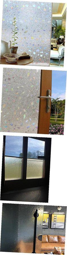 Window Film 175757 Privacy Cling Film Glass Residential Window