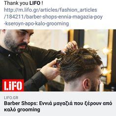 Thank you LIFO ! http://m.lifo.gr/articles/fashion_articles/184211/barber-shops-ennia-magazia-poy-kseroyn-apo-kalo-grooming #roostersbarbershopathens #roostersbarbershop #roostersαμπελοκηποι #roosters #lifo  www.roostersbarbershop.gr