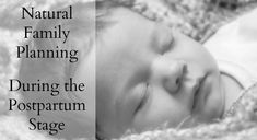 Natural Family Planning During the Postpartum Stage
