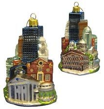 Kurt Adler Boston Faneuil Hall City Scapes Noble Gems Glass Christmas Ornament