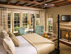 Exclusive Resorts Sea Island at The Cloister, Master Bedroom