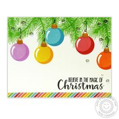 Holiday Style 4x6 Clear Stamps - Sunny Studio Stamps