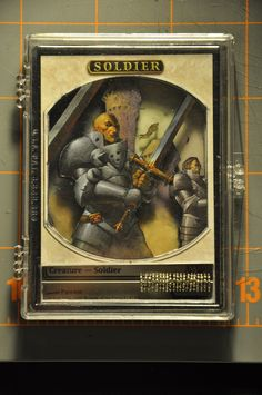 Soldier Token  Magic the Gathering
