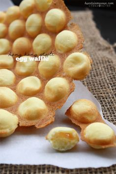 Hearts in My Oven: Hong Kong Style Egg Waffles