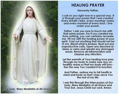 Mother Mary pray for us  Sacred Heart of Jesus hear our prayers