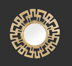 Greek Key Gold Mirror - Visit today & pick up some great freebies! http://maps.secondlife.com/secondlife/Purgatory/78/96/23