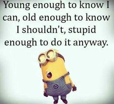 Sounds a bit like my life story!