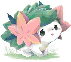 ^_^ Someone please tell me what pokemon this is. I've never seen it, it is adorable, and I want it,