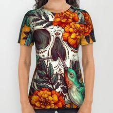 Dia de los Muertos All Over Print Shirt