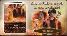 I love all of Cassandra Clare's books so far. This is the 4th book of the series with the first being adapted for the big screen. I cant wait!