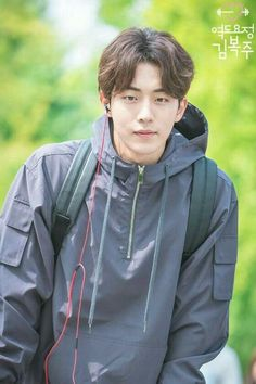 Nam Joo Hyuk in Weightlifting Fairy Kim Bok Joo Park Hyun Sik, Hyun Kyung, Jong Hyuk, Nam Joo Hyuk Lee Sung Kyung, Lee Hyun Woo, Asian Actors, Korean Actors, Park Bogum, Joon Hyung