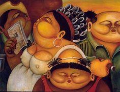 """""""¡Los gordos son perfectos!"""": artículo sobre Alberto Godoy (+ galería de obras) - pintor cubano quien reside en EEUU ► 98 obras de Godoy en este sitio: http://www.conexioncubana.net/index.php/gal-art/alberto-godoy"""