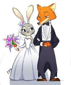 Zootopia Wedding by blackcatcomic on DeviantArt