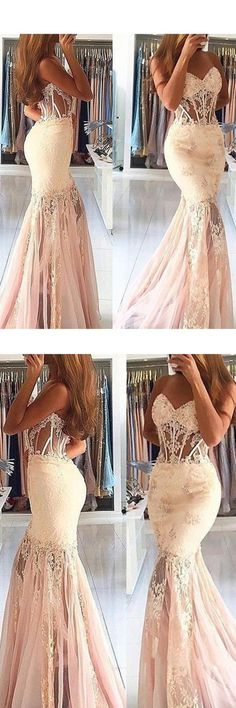 2020 New Arrival Sweetheart Mermaid Prom Dresses With PAAYTHN3, This dress could be custom made, there are no extra cost to do custom size and color Mermaid Prom Dresses Lace, Gorgeous Prom Dresses, Lace Mermaid, Cheap Prom Dresses, Tulle Dress, Flower Girl Dresses, Party Dresses, Wedding Dresses, Robes D'occasion