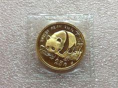 China 1987-S 1/4 Oz Ounce 25 Yuan Gold Panda Sealed in OMP