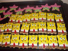 Patrick and Spongebob Cookies