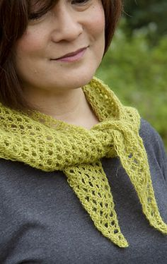 Lava Lace Scarf Fingering Yarn To celebrate the publication of Icelandic Lace Collection, this design is free for a limited amount of time.
