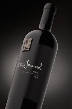 label / m lorca wine