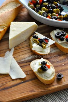 Delicious Cheese Platter Pairings---This olive and cheese salad is amazing! It's such an easy to make appetizer and everyone always devours it! #sp #olives #cheese #appetizer @Sarah Chintomby King Cheese