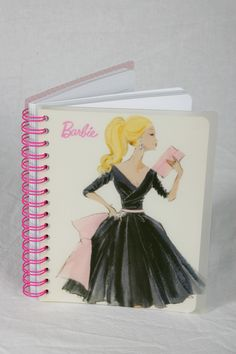 Barbie Notebook - $9.95 at @ Carlton Cards ILY BARBIE
