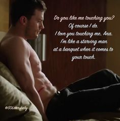 Do you like me touching you? #FiftyShadesFreed