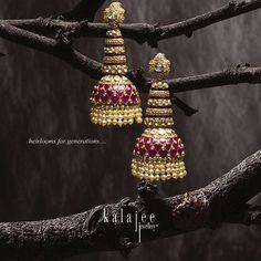 Sterling Silver Jewellery for kids Jewelry Design Earrings, Gold Earrings Designs, Jewelry Show, Antique Jewellery Designs, Antique Jewelry, Indian Wedding Jewelry, Bridal Jewelry, Real Gold Jewelry, Silver Jewellery