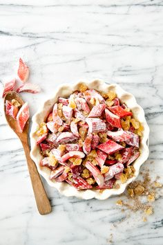 Ginger Rhubarb pie: http://www.stylemepretty.com/living/2015/07/02/red-white-blue-treats-for-a-sweet-4th-of-july/