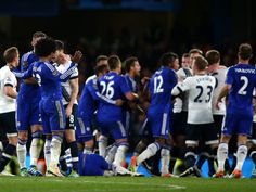 Spurs and Chelsea await report