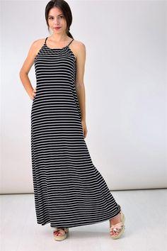 Potre – Μάξι φόρεμα Summer Dresses, Collection, Fashion, Moda, Summer Sundresses, Fashion Styles, Fashion Illustrations, Summer Clothing, Summertime Outfits