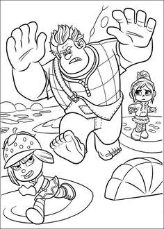 Dibujos para Colorear Rompe Ralph 20