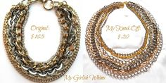 Chain Knock-Off Necklace | My Girlish Whims