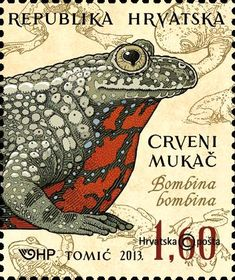 Postage Stamp from Croatia Postage Stamp Art, Going Postal, Frog And Toad, Vintage Stamps, Art Graphique, Stamp Collecting, Mail Art, My Stamp, Poster