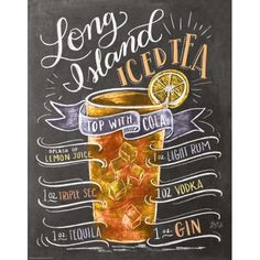 Premium-Poster Long Island Ice Tea Rezept (Englisch) Lily & Val 30479 longislandicedtea Posters at P Bar Drinks, Cocktail Drinks, Alcoholic Drinks, Beverages, Cold Drinks, Iced Tea Recipes, Alcohol Drink Recipes, Long Island Iced Tea Recipe, Best Long Island Recipe