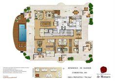 Les Residences de Monaco | 794m² | Barra da Tijuca | Rio de Janeiro