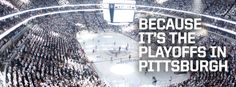 Because it's the Playoffs in Pittsburgh, Facebook Timeline cover