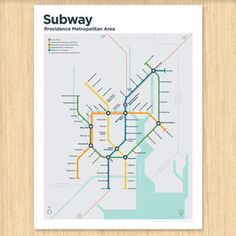 Image of Providence Subway Map